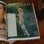 (Aerin Lauder photographed by Sebastian Kim, August 2012 Vogue, via Cakewalk.)