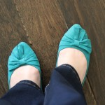 (My missing shoes; safe at last!)