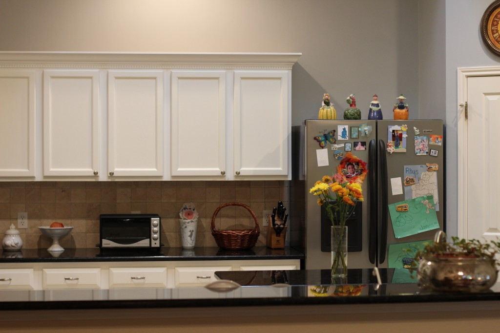 Walking with Cake: kitchen back wall