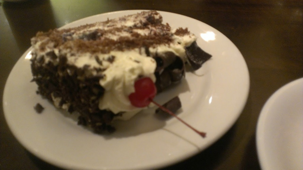 Walking with Cake: Black Forest Cake from Gourmandise, SLC