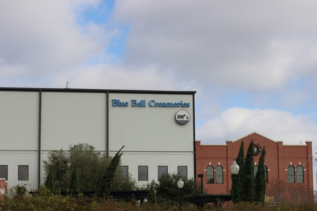 (The Blue Bell Factory.)