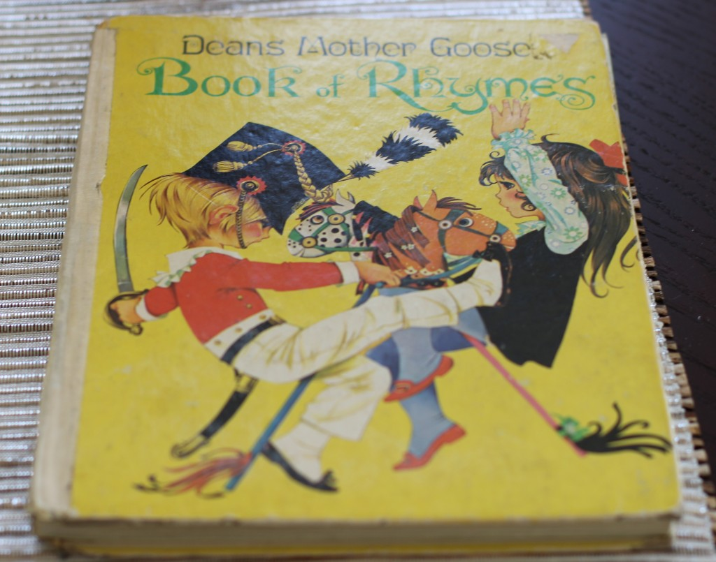Deans Mother Goose Book Of Rhymes Now Out Print