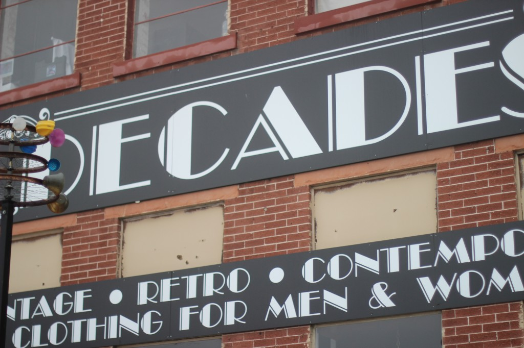 Walking with Cake: Decades Vintage, SLC