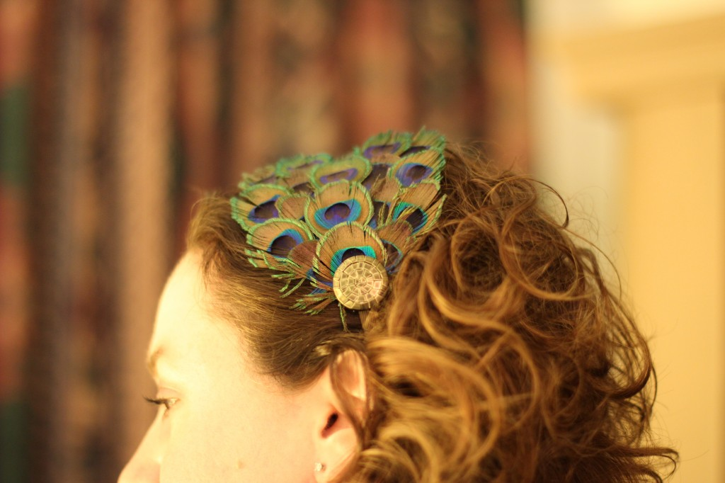 Walking with Cake: Feathers in my hair