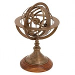 (My new armillary sphere.)