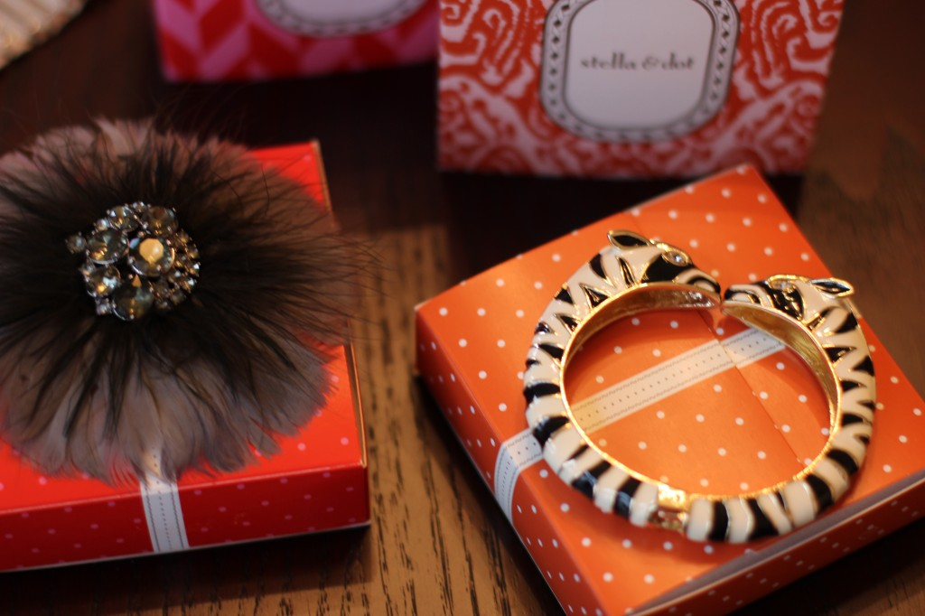 Walking with Cake: Plume Brooch & Kalahari Bangle