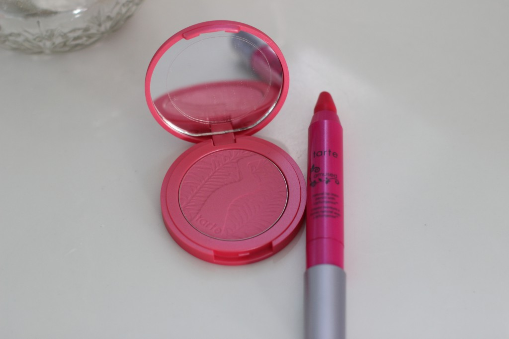 Walking with Cake: Tarte Amused Blush and Lip Tint