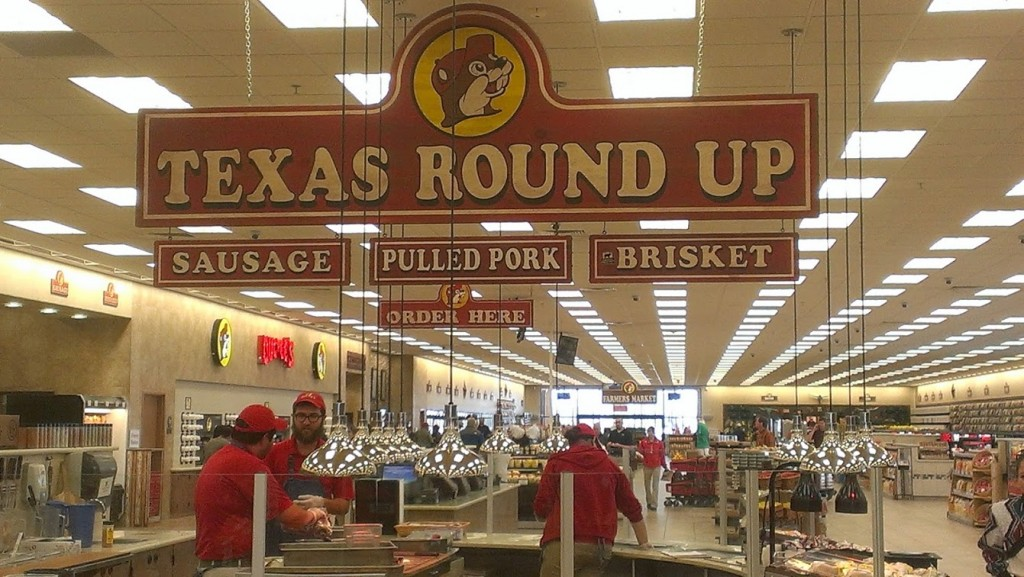 Walking with Cake: Buc-ee's Texas Round Up