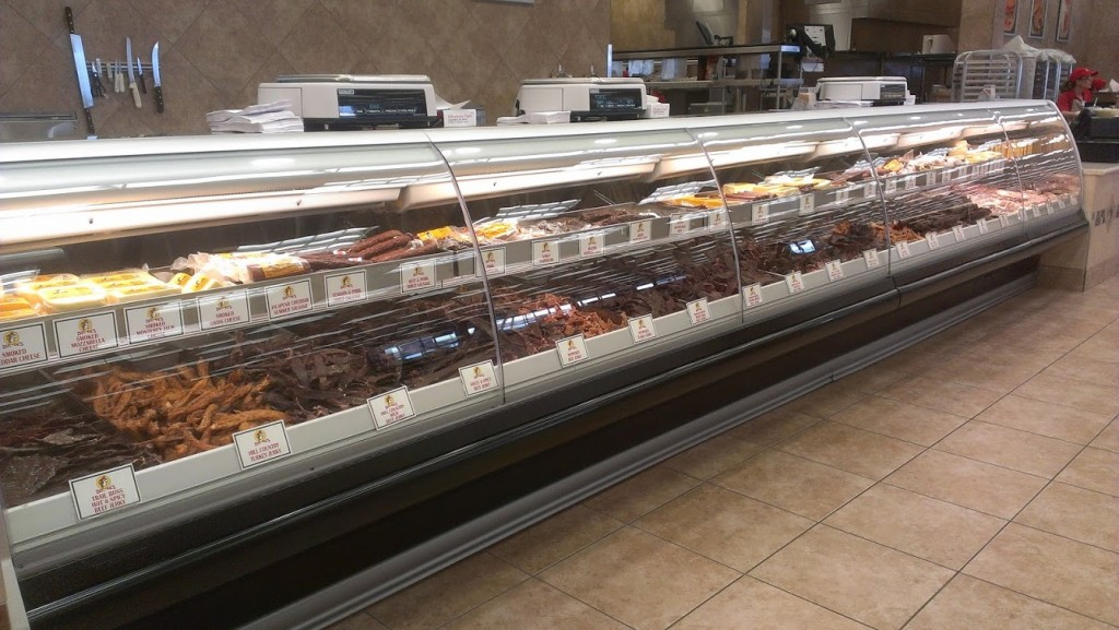 Walking with Cake: Buc-ee's jerky counter