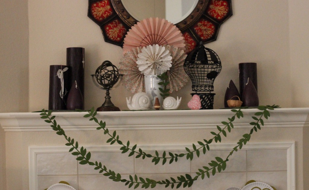 Walking with Cake: Steampunk Mantel