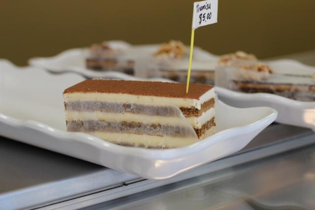 Walking with Cake: Tiramisu by La Pâtisserie