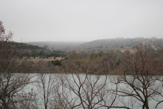 Walking with Cake: View at Lady Bird Johnson Municipal Park, Fredericksburg, TX