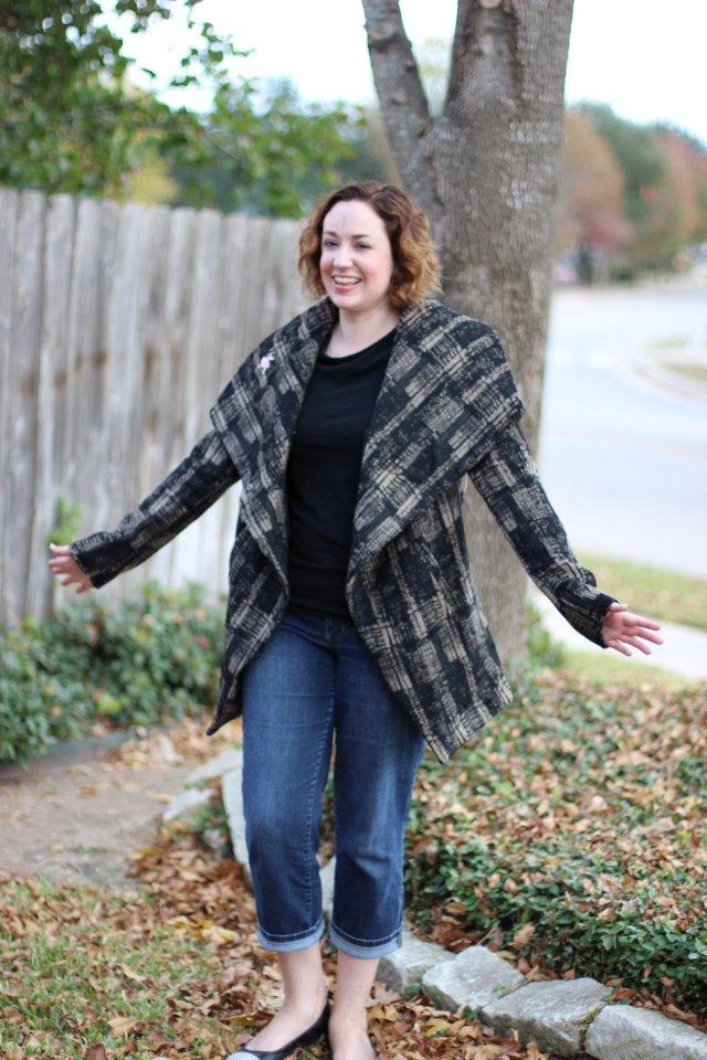 Walking with Cake: resized coat pic