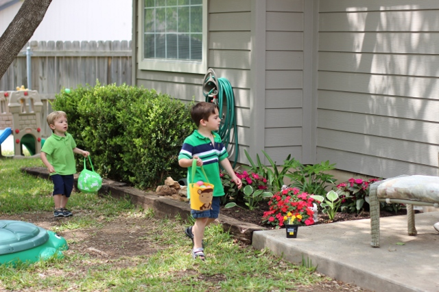 Walking with Cake: Hunting for eggs