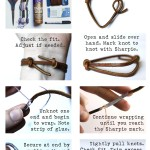 Guest Post: Wrapped Leather Bracelet