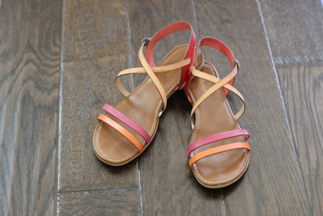 Walking with Cake: Beach Boulevard Sandals by Sundance Catalog