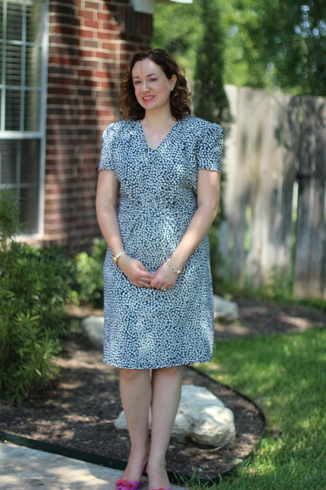 Walking with Cake: ModCloth's Cutie Doodle Doo Dress by People Tree