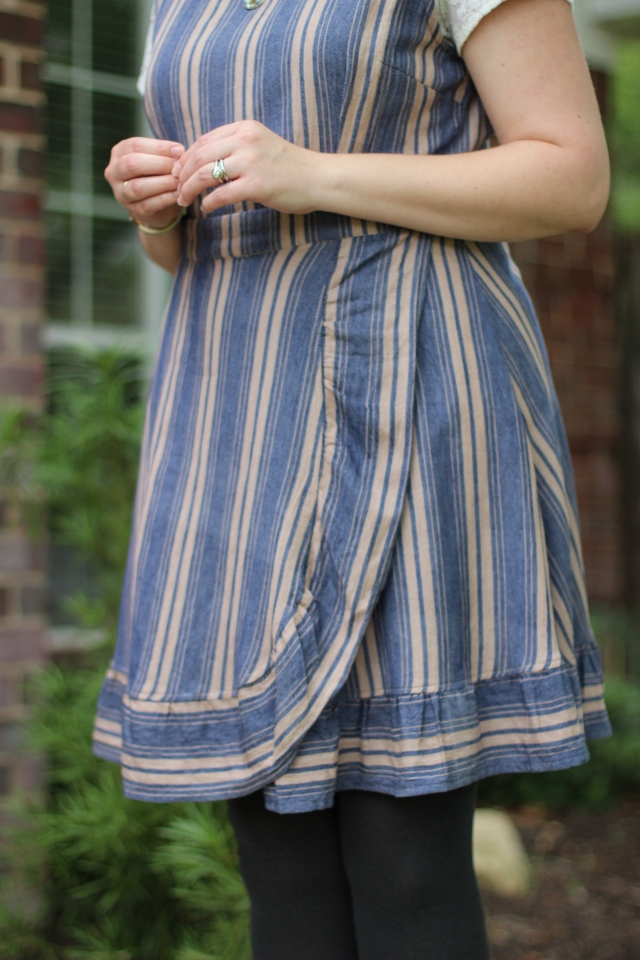 Walking with Cake: Closeup of ruffle skirt