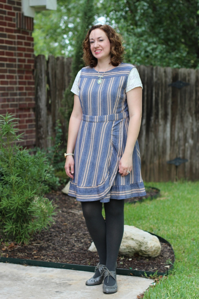 Walking with Cake: Cupcake Dress styled for fall