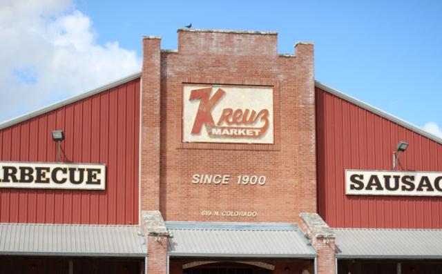 Walking with Cake: Kreuz Market, Lockhart, TX