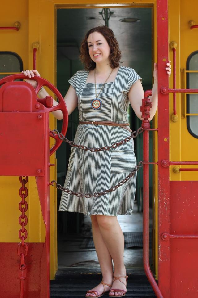 Walking with Cake: Savannah Smile Dress by Mata Traders