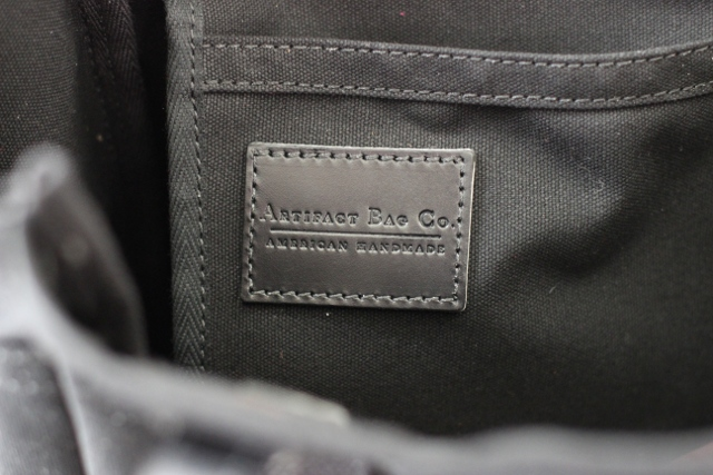 Walking with Cake: Artifact Bag Co. label