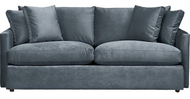 Walking With Cake: Crate U0026 Barrel Lounge84inSofaViewSlateS8. (The Lounge  Sofa ...