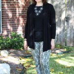 Walking with Cake: Brocade & Black