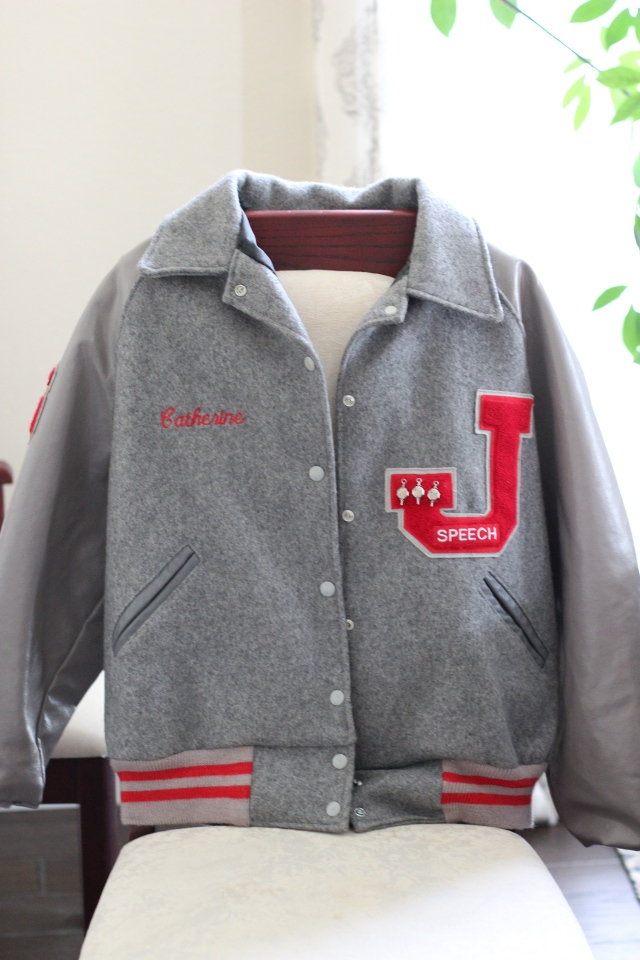 Walking with Cake: My Letter Jacket