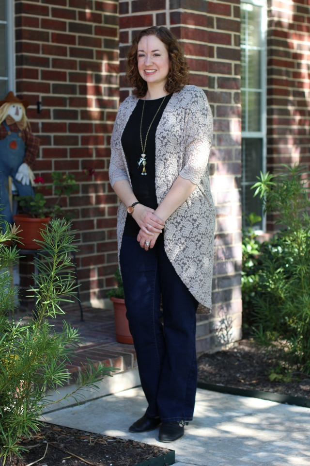 Walking with Cake: Ruche's Edworth Manor Lace Cardigan