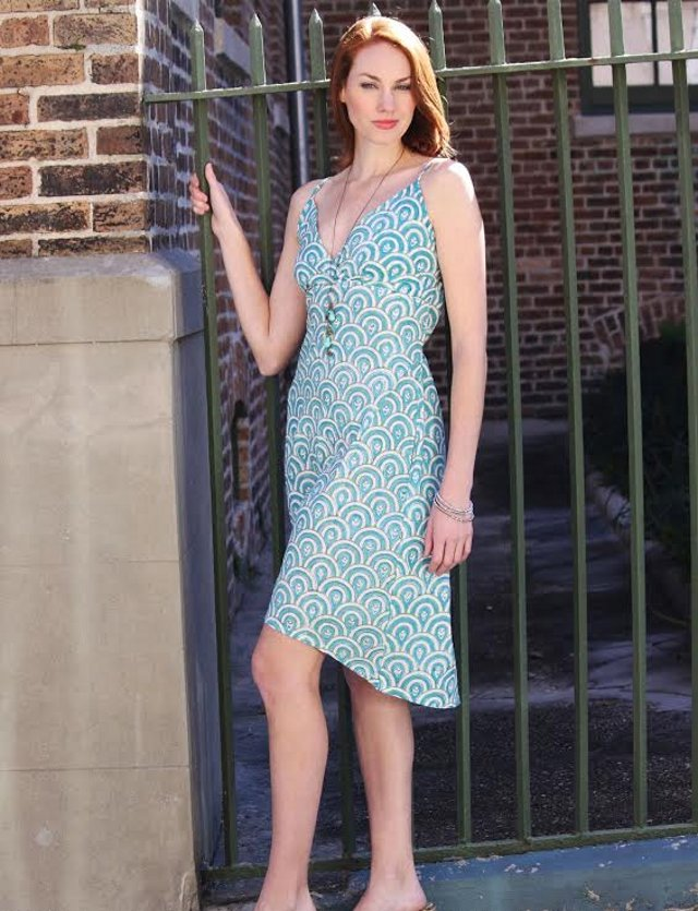 Walking with Cake: Passion Lilie Peacock Teal Dress