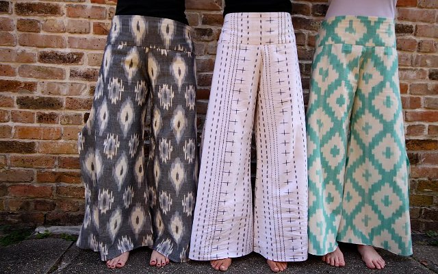 Walking with Cake: Passion Lilie Spinnaker Pants