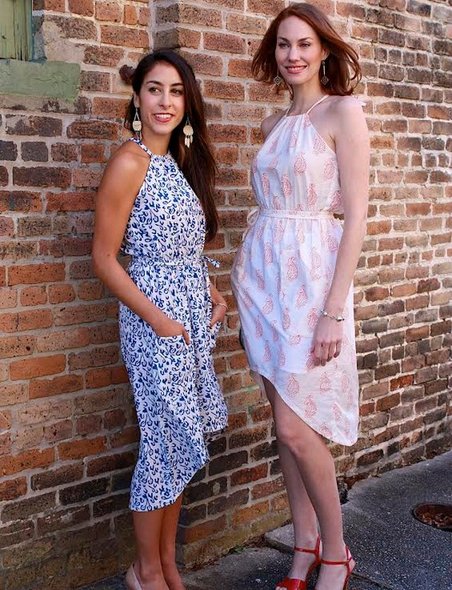 Walking with Cake: Passion Lilie Marbella and Bahia dresses