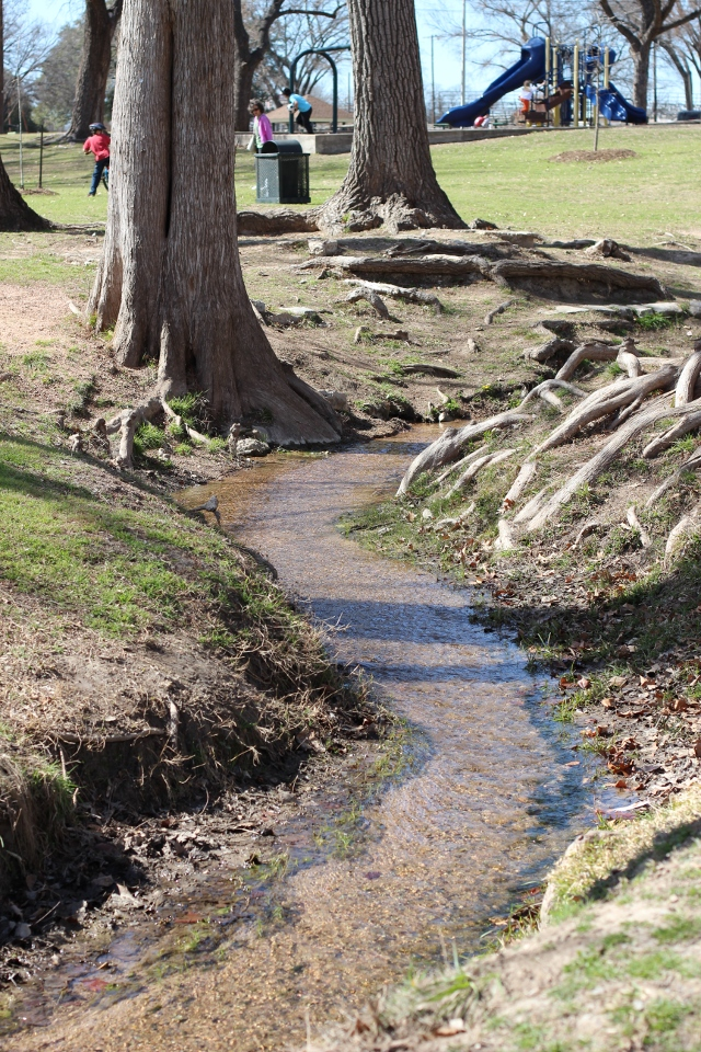 Walking with Cake: little stream