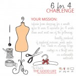The 6 for 4 Mindful Consumption Challenge