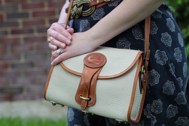 Walking with Cake: Dooney and Bourke bag detail