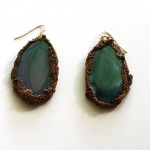 (Agate Slice Earrings from Frivolity.)
