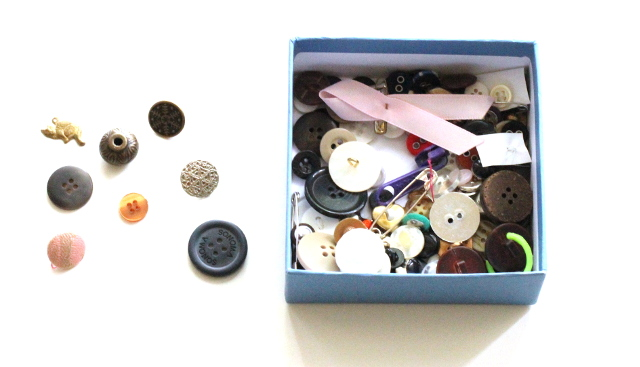 Walking with Cake: Button Box