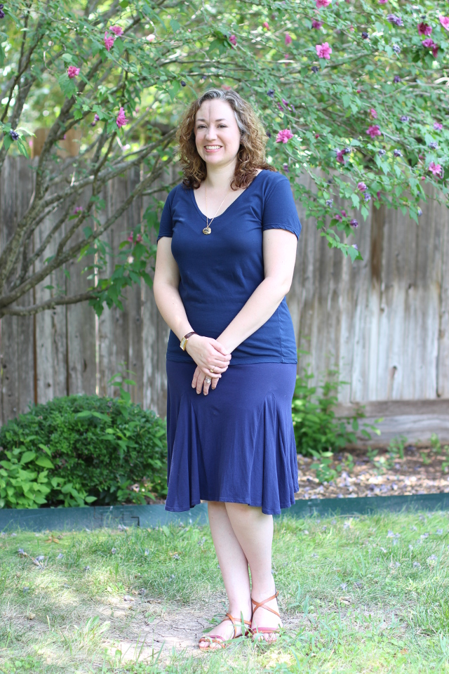 Walking with Cake: Indigenous Wave skirt casual look