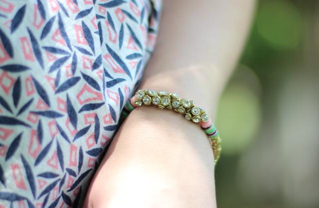 Walking with Cake: Noonday Glimmer Bracelet