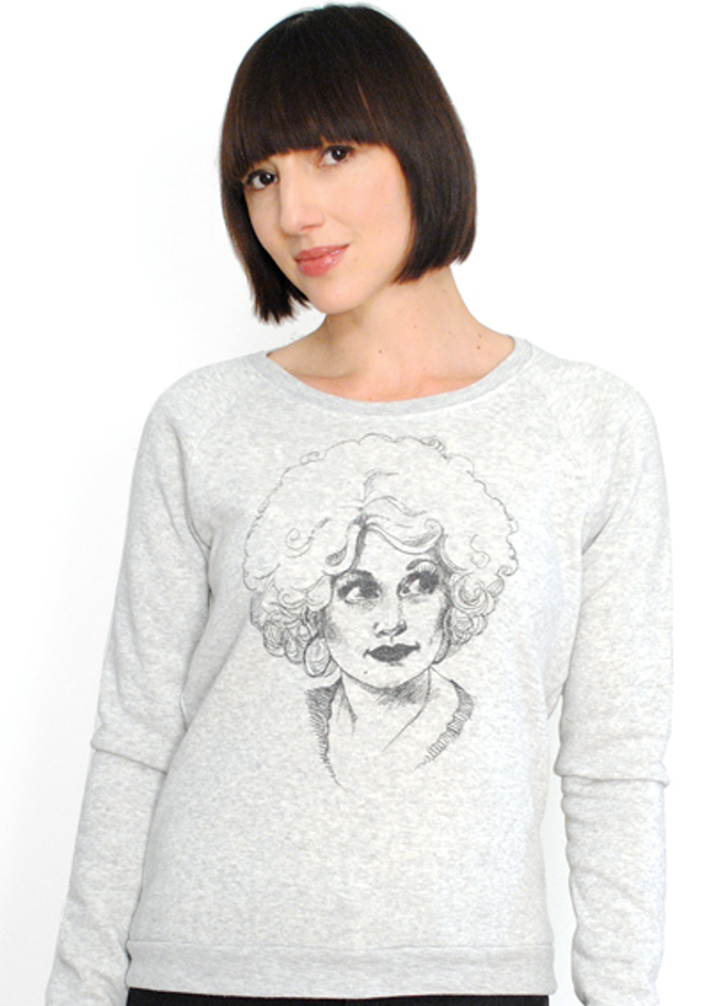 Walking with Cake: Curator Dolly Raglan Top