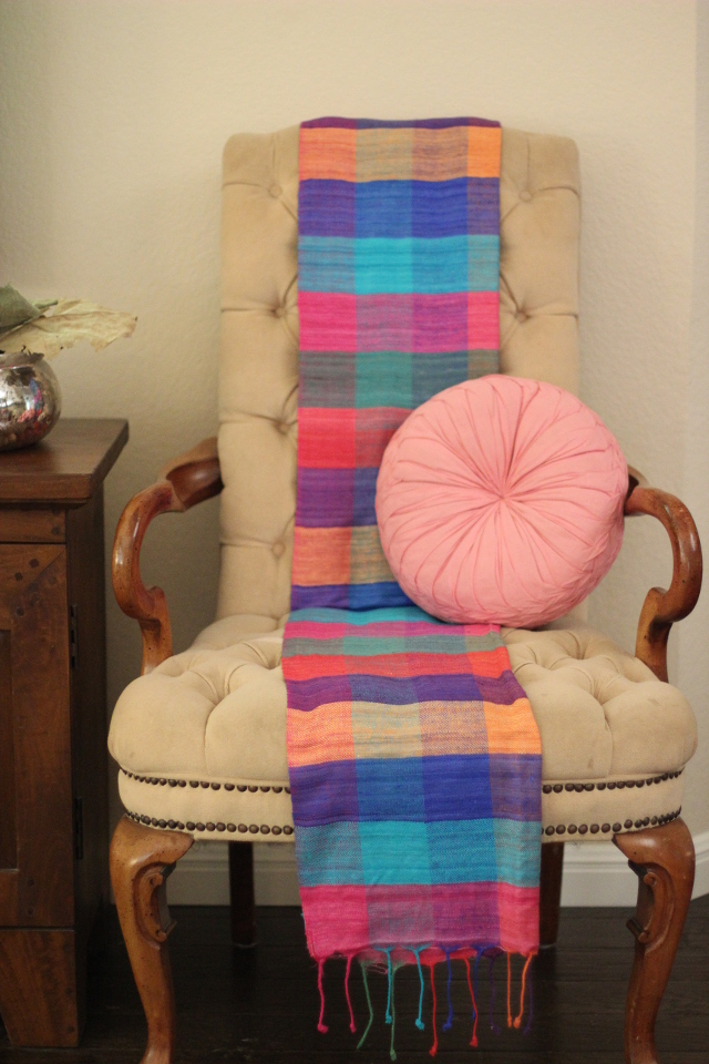 Walking with Cake: Noonday's Himalayan Scarf