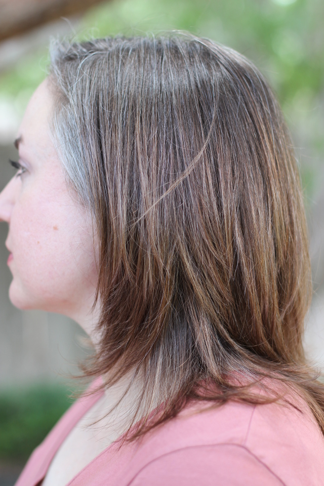 Walking with Cake: Grey Hair with Toner
