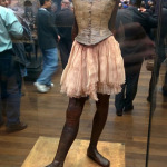 (Ryan sent me this photo of a replica of Degas' Little Dancer of Fourteen Years.)