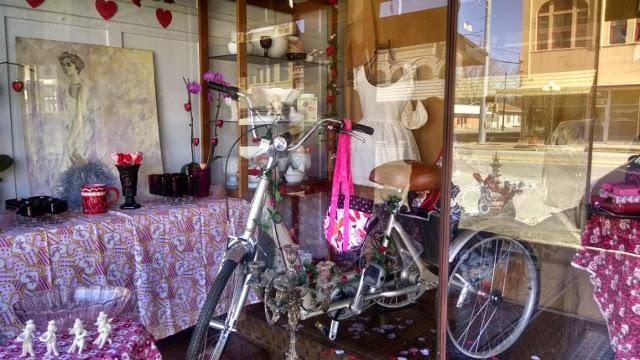 Walking with Cake: Smithville window display