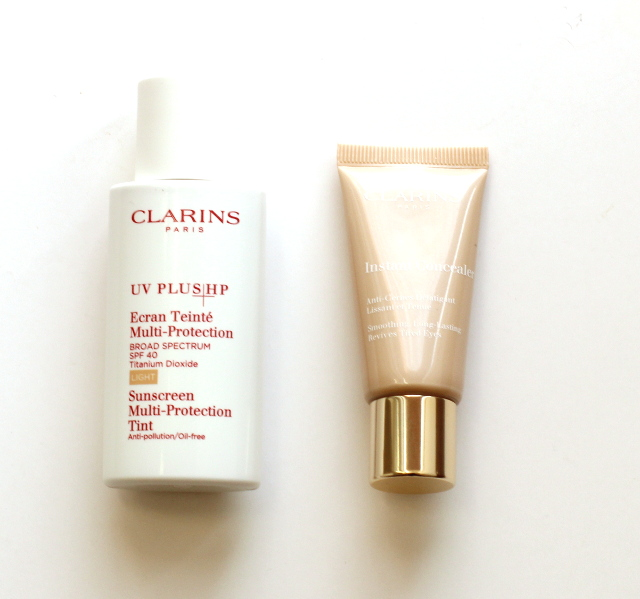 Walking with Cake: Clarins Products
