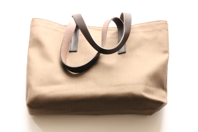 Walking with Cake: Everlane Twill Tote