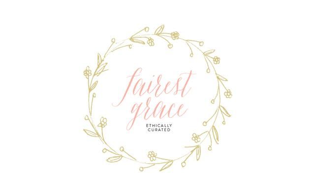 Walking with Cake: Fairest Grace Logo blog