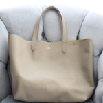 (My new bag from Cuyana.)