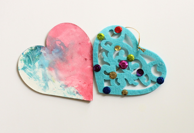 Walking with Cake: Handmade Hearts